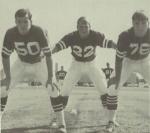 Bucky Utter 1968 Tri Captains football